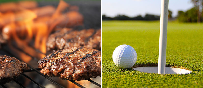 SUMMER END GOLF DAY & BBQ